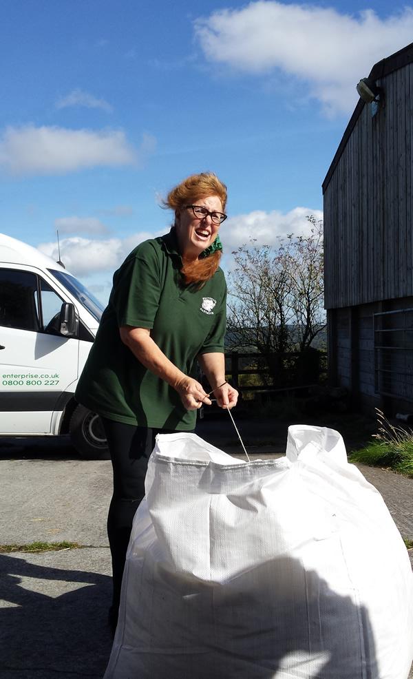 Kim Stead, twool, Wool clip collection, dartmoor, One Change Wool Week