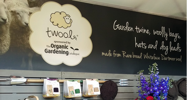Twool - twool garden shows sponsored by The Organic Gardening Catalogue