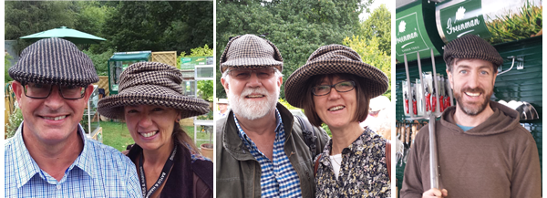 twool - ritish Wool Hat RHS Summer Shows, Greenman Tools