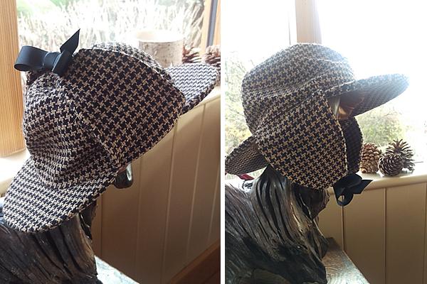 Deerstalker hat - twool